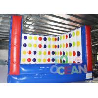 China Giant Inflatable Interactive Games Twister Mattress Bounce For Family Entertainment wholesale