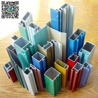 China all color powder coated aluminum extrusion profile for window and doors wholesale