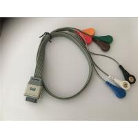 China Compatible edan SE2003/ SE2012 bi9800/9000 ecg leads holter  cable wholesale