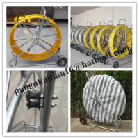 China HDPE duct rod,Reels for continuous duct rods,Pipe traker traceable midi duct rodder wholesale