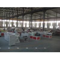 China Recycled PVC WPC Foam Board Machine , Conical Twin Screw Extruder wholesale