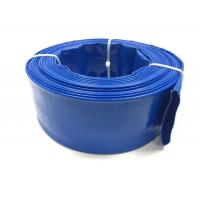China Blue Garden Irrigation Hose 4 Inch Flexible Hose For Agriculture Farming on sale