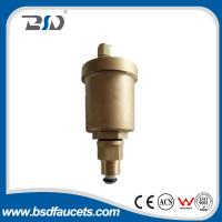 15mm brass water  radiator valve automatic air vent valve with check valve ,Vertical adjusting air vent valve
