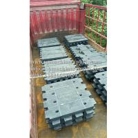 China China Assessed Supplier Panoramic Elevators Customized Cast iron Counter Weight Filler 41KG wholesale