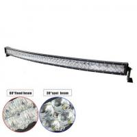 """China 54"""" 300W Double-row Curved 6000K Spot/ Flood/ Combo Car Lightbar for Off-road Truck ATV Vehicle wholesale"""