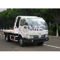 China Durable 6 Tons Wrecker Tow Truck , Flatbed Breakdown Recovery Truck For Rescue Conditions wholesale