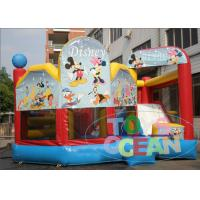 China Commercial Inflatable Bouncer Combo With Bounce House And Slide For Kids wholesale