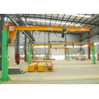China Column Mounted Slewing Jib Lifting Equipment , Free Standing Industrial Crane wholesale