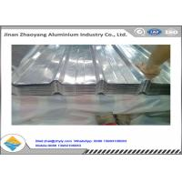 China Construction Corrugated Aluminum Sheet , Customized Aluminum Corrugated Panels wholesale