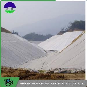 China Railway Composite Geotextile Compounding Silk , Nonwoven Geotextile wholesale