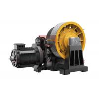 China 45kw Geared Elevator Traction Machine For Cargo Lifts 0.5~2 M/S wholesale