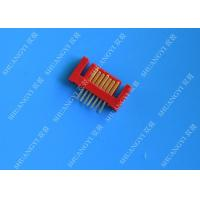 China Lightweight Red External SATA 7 Pin Connector Voltage 500V SMT Type wholesale
