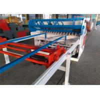 China Width 1200mm Automatic / Manual Mesh Panel Welding Machine For Fence Construction on sale