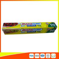 China Anti Fog Clear Cling Film For Packing Vegetable / Fruit , Biodegradable Cling Wrap wholesale