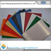 Quality Building Aluminium Alloy Sheet RAL Color Coated Aluminium Sheet 1000mm Width for sale