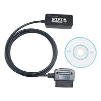 China Wifi Obd Diagnostic Cable For I Phone / Pod Touch With Sae J1939 Protocol on sale