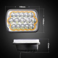 China Good quality Off Road 45W 7 inch Epistar Chips LED headlight  with Colorful Ring and Strobe Model wholesale