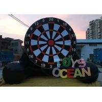 China  Gaint Inflatable Air Sealed Soccer Dart  Shooting Football Game For Sport Game wholesale