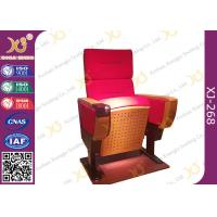 China Modern Folded Commercial Auditorium Chairs With Strong Steel Structural Single Leg wholesale