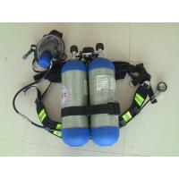 China 6.8L*2 30MPa RHZK Self Contained Breathing Apparatus SCBA / Portable Emergency Escape Breathing Apparatus wholesale