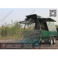 China Mobile Security Razor Barrier Trailer wholesale