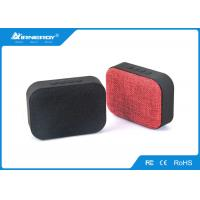 China Coloful Cloth Bluetooth Speaker / Portable Bluetooth Subwoofer , 3 Watt Power wholesale