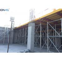 China Different Color Slab Formwork Systems Channel Steel / Timber Beam / Plywood Material wholesale