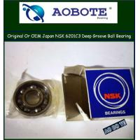 China Single Row NSK Ball Bearings 6201C3 Deep Groove With P5 Bearing wholesale