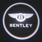 China Luxury Car door logo light bentley emblem 3W car led door projector lights wholesale