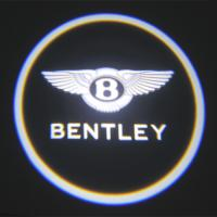 China Luxury Car door logo light bentley emblem 3W car led door projector lights wholesale