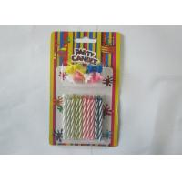 Quality Spiral Magic Relighting Birthday Candles / Funny Trick Candles Paraffin Wax for sale