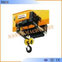 China Workstation Low Headroom IP55 Electric Wire Rope Hoist 5 Ton / 6.3 Ton wholesale