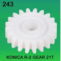 China GEAR TEETH-21 FOR KONICA R2 MODEL minilab wholesale