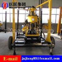China XYX-130 Wheel Type Hydraulic water well drilling machine rotary drilling rig /small bore well drilling machine wholesale