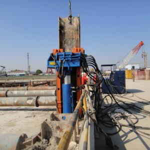 China Beiyi Excavator Pile Pulling Machine Hydraulic Pile Extractor wholesale