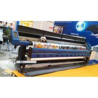 China 3.2M Large Format Eco Solvent Printer With Two DX7 Micro Piezo Print Head for Flex Banner wholesale