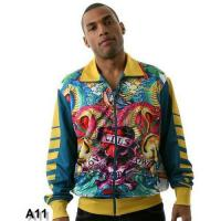 China Ed hardy,christian audiger CA brand men's hoodies men casual coat wholesale