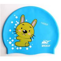 Buy cheap Lovely Cute Cartoon Silicone Swimming Caps For Children , Boys , Girls from wholesalers