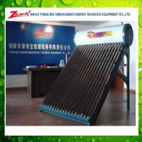 China compact nonpressure solar water heater wholesale