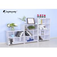 China White Multi Storey Storage Rack Desktop Computer Desk Moistureproof wholesale