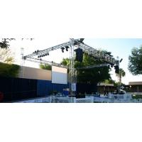 China Outdoor Concert / Party / Wedding Stage DJ Truss For Speakers wholesale