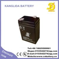 China 6v 4ah rechargeable solar battery manufacturer in China wholesale