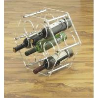 China OEM Stainless Steel, Clear Acrylic display unit  wine / beer Bottle Display Rack / Holder wholesale