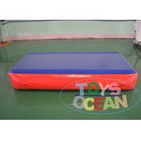 Quality Floating Gymnastics Air Track Water Boards Inflatable Jumping Mat for Exercise for sale