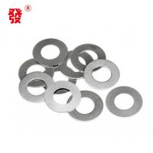China M2 - M56 Zinc Plain Metal Flat Washers / Metal Flat Gasket DIN125 DIN9021 wholesale