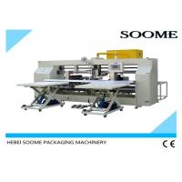 China Double Screw Carton Box Stitching Machine Bending Type 45 Degree Oblique CE Certification on sale