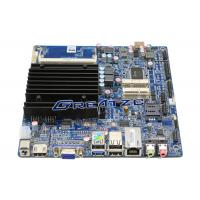 China 2 RS232 Ports Mini ITX Fanless PC Motherboard j1800 CPU Support 1080P wholesale