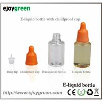 China E-liquid/E-juice bottle with childproof cap 10ml, 15ml, 30ml,50ml wholesale