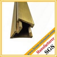 China copper alloy brass section & profiles hardware wholesale