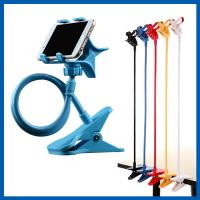 Blue Universal Mobile Phone Accessories Clip Holder Lazy Bracket Flexible Long Arms